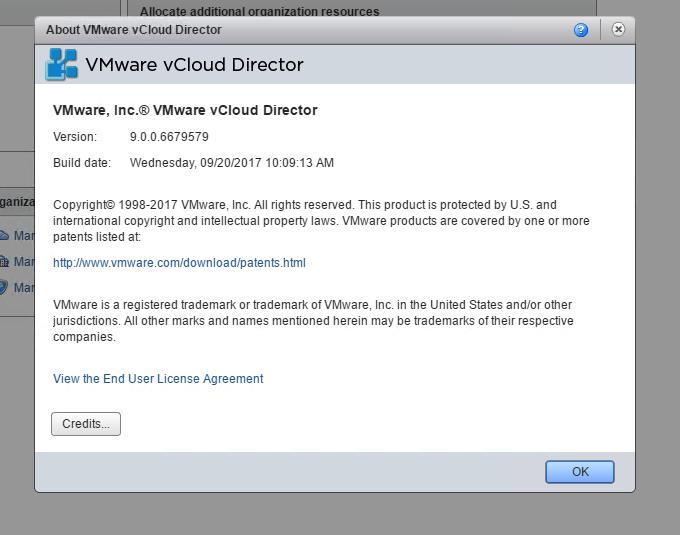 Update VMware vCloud Director 9 in 5 Minutes - Clouds, etc
